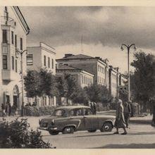 Улица Некрасова. 1966 год.