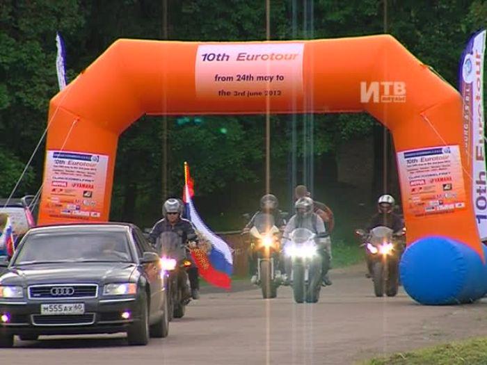 Импульс\u002DТВ: Мотопробег «Евротур — 2012»