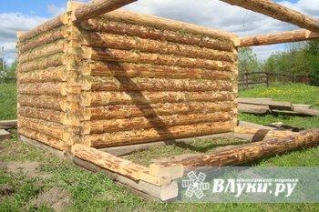 Рубим на заказ срубы любых размеров до 6x6, свежий лес, возможна доставка,…