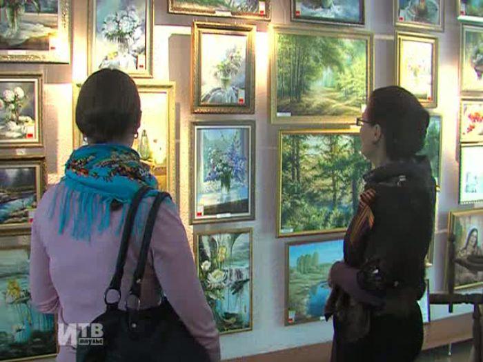 Импульс\u002DТВ: Выставка в художественном салоне