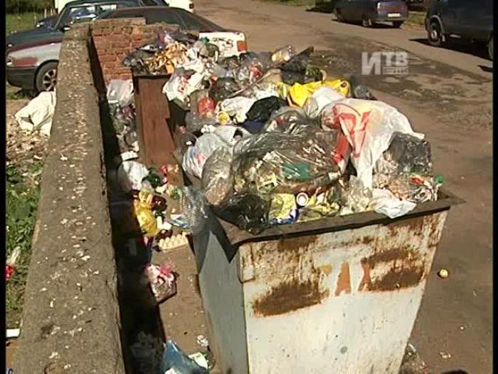 Импульс\u002DТВ: Вывоз крупногабаритного мусора