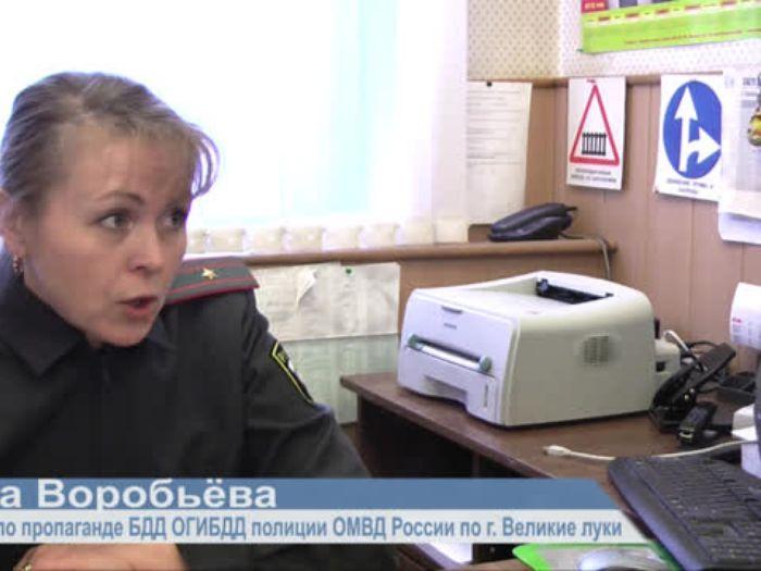 ВЛуки.ру: Рейд ГИБДД по пешеходным переходам