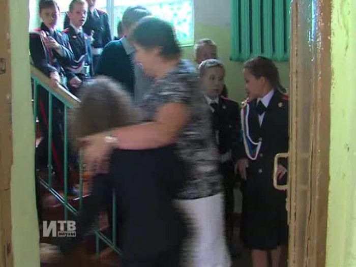 Импульс\u002DТВ: Учебная эвакуация в Кадетской школе