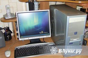 Продам ПК Pentium 4, 2.4 Ггц, видеокарта ATI 9550 128мб, жесткий диск 200 Гб,…