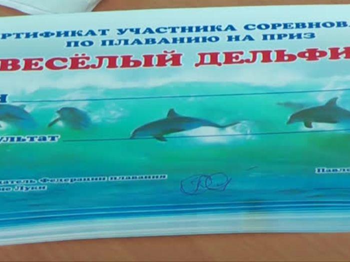 ВЛуки.ру: Первенство города по плаванию «Веселый дельфин»