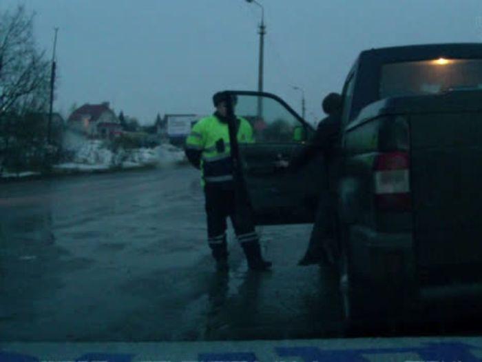 Псковская полиция задержала нетрезвого водителя