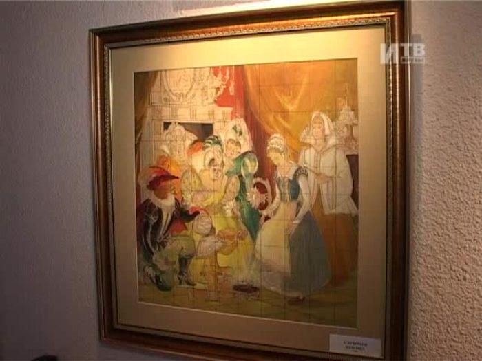 Импульс\u002DТВ: Две выставки в художественном салоне