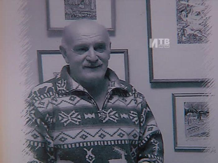 Импульс\u002DТВ: Выставка графики А.Андреева\u002DСнегина в худ. салоне