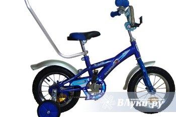 """Детский велосипед Novatrack Delfi  синий ОЧЕНЬ мало б/у. Диаметр колеса 12"""",…"""