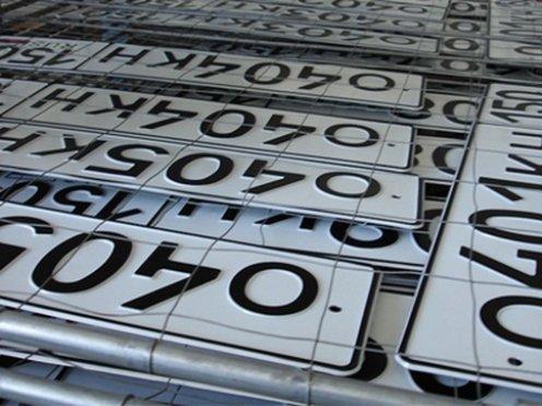 В РФ изменят формат автомобильных номеров