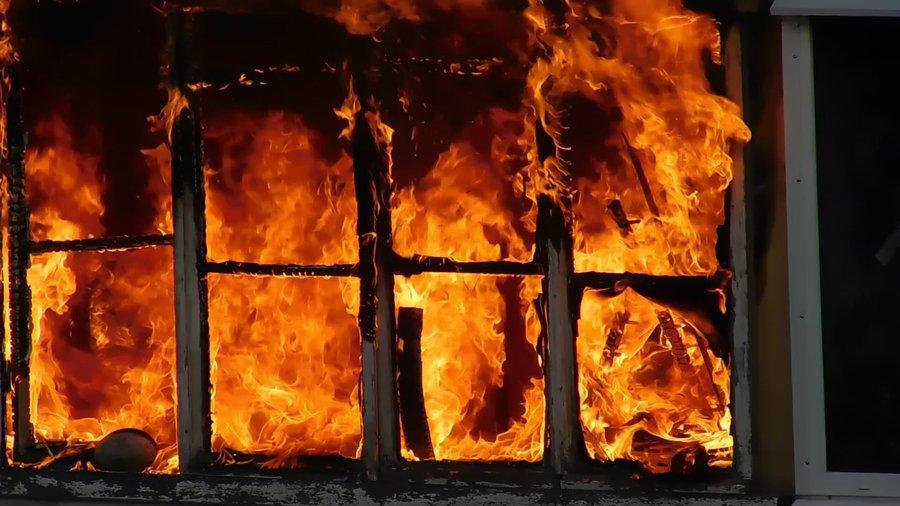 Два ребёнка погибли при пожаре вОпочецком районе