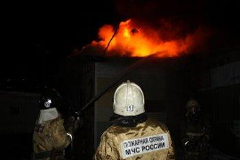 Пожар в деревне городок парфинского района