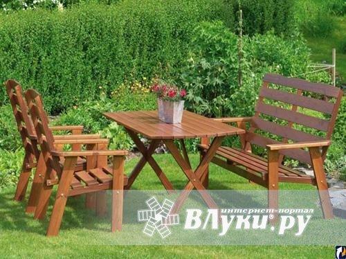 дачный стол и стулья своими руками