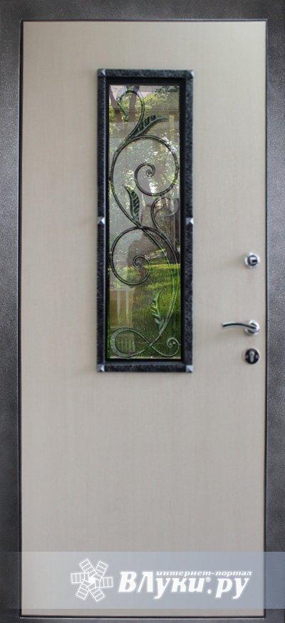 металлические двери с стеклопакетом купить