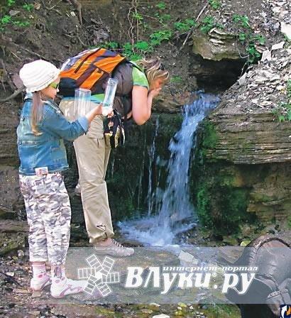 Набрать родниковой воды в тольятти