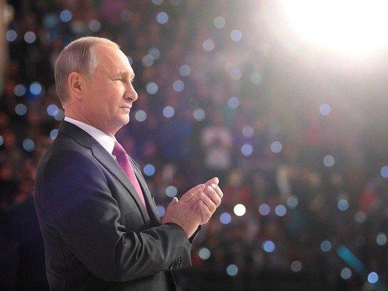 Президент Владимир Путин сегодня проведет ежегодную пресс-конференцию