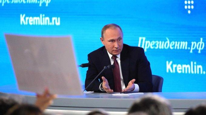 Владимир Путин: «Россия должна быть устремлена вбудущее, быть очень современной»